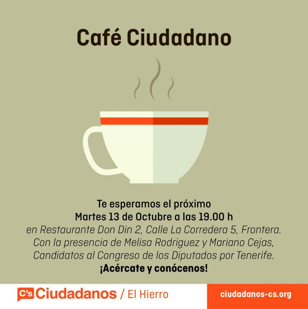 Café ciudadanos Redes