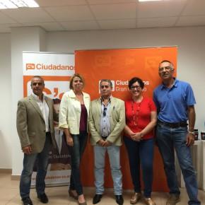 Lucio Reyes asume la coordinación de la agrupación de C´s en Gran Canaria Norte-Noroeste