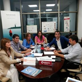 Reunión C¨s con Camara comercio Lanzarote