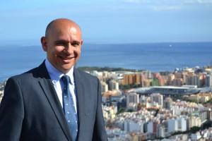 Antonio Blanco, concejal de Ciudadanos (C´s) de Santa Cruz de Tenerife.
