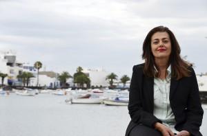 Delia Hernández, concejal de Ciudadanos (C´s), del Ayuntamiento de Arrecife.