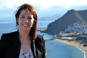 Evelyn Alonso, Concejal de Ciudadanos (C´s), en el Ayuntamiento de Santa Cruz de Tenerife.