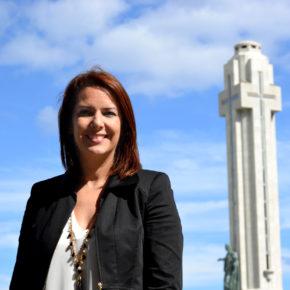 """Evelyn Alonso (Cs): """"Las medidas adoptadas por el área de Seguridad del Ayuntamiento de Santa Cruz de Tenerife para atajar los delitos en Residencial Anaga son insuficientes"""""""