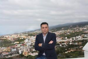 José Domingo Alonso, concejal de Ciudadanos C´s en Icod de los Vinos