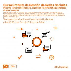 Ciudadanos organiza un curso gratuito sobre el uso eficiente de las redes sociales en Telde