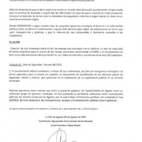 C´spide un plan de seguridad específico para la festividad de La Rama (Agaete)