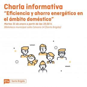 Ciudadanos organiza una charla informativa sobre eficiencia y consumo energético en Santa Brígida