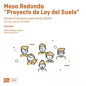 C's organiza en Telde una conferencia sobre el proyecto de Ley del Suelo