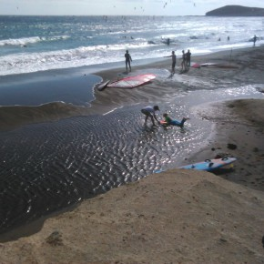 Ciudadanos insta a la Autoridad Portuaria a que ejecute urgentemente la reposición de arena en las playas de El Médano