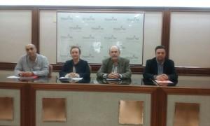 Representantes de oposición Icod de los Vinos (PSOE, PP, SI y Cs)