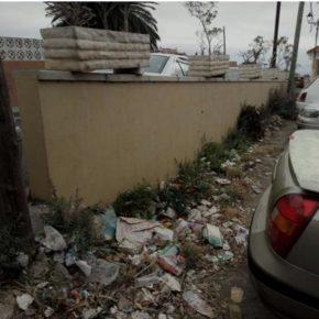 Ciudadanos denuncia la deficiencia del servicio de limpieza viaria en Santa Brígida