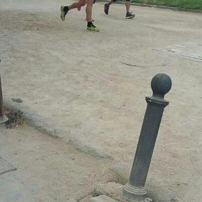 """Ciudadanos denuncia el """"deplorable"""" estado de abandono y deterioro del Parque Romano"""