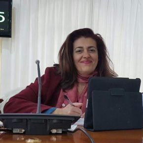 """Delia Hernández (Cs): """"Es intolerable que tres concejales del grupo de gobierno cobren trienios en sus cargos políticos cuando la ley no lo permite"""""""