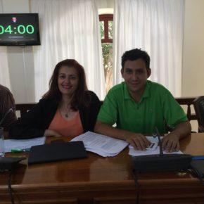 """Delia Hernández (Cs): """"Es vergonzoso que el gobierno de Arrecife niegue y esconda la insalubridad del municipio por la falta de aseos públicos"""""""
