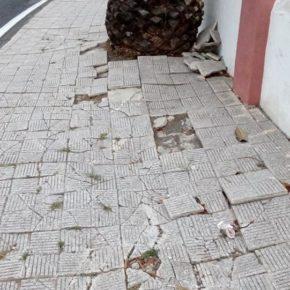 Cs urge al Ayuntamiento de Garachico a acondicionar la acera que transcurre entre el barrio Genovés y San Juan del Reparo