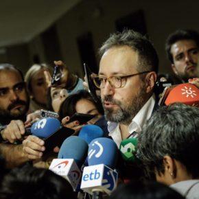 """Girauta: """"Exigiremos a Rajoy que comparezca en la Comisión de Investigación aunque otros prefieran que dé un discurso en el Pleno"""""""