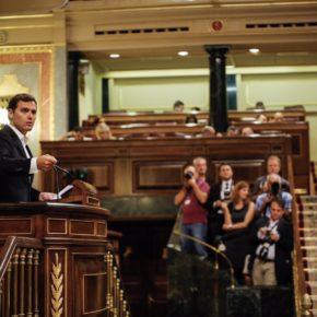 """Rivera anuncia que Cs presentará este lunes la Ley de limitación de mandatos y asegura que """"saldrá adelante con ayuda del PP o sin ella"""""""