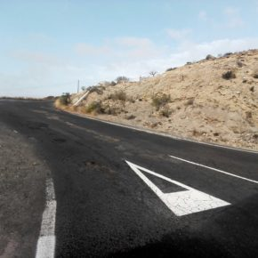Ciudadanos en Granadilla de Abona reclama mejoras en la carretera que une Chimiche y la autopista