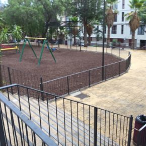 Ciudadanos denuncia el mal estado en que se encuentra el parque Narciso de Vera en La Laguna