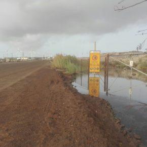"""Ciudadanos denuncia vertidos """"incontrolados"""" de aguas fecales en el Polígono Industrial de Granadilla de Abona"""