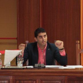 """Benjamín Perdomo (Cs): """"San Ginés está secuestrando el debate y pisoteando los derechos de la oposición en el Cabildo de Lanzarote"""""""