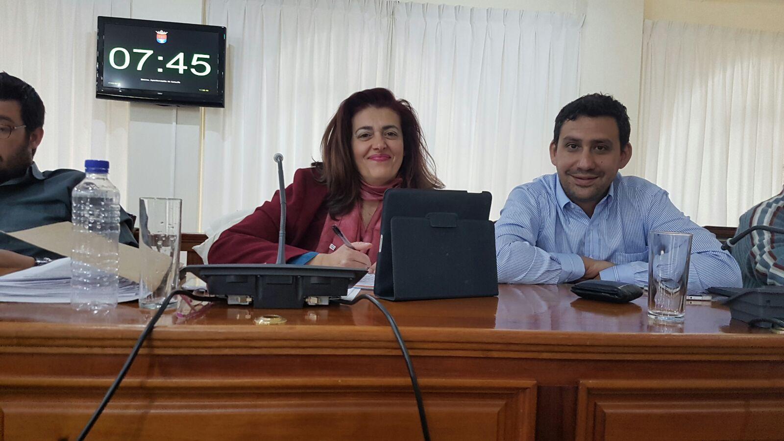Cs consigue que se apruebe por unanimidad su propuesta para mejorar el sistema de transporte público en Arrecife