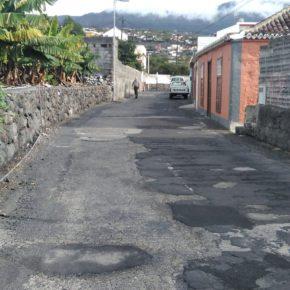 """Cs exige al Ayuntamiento de Los Llanos que """"cumpla de una vez su promesa"""" y asfalte las calles del barrio de Triana"""