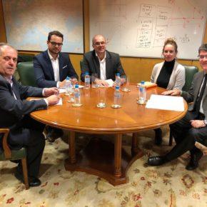 Melisa Rodríguez se reúne con el ministro de Energía y representantes del Cabildo de La Palma para abordar los retos del sector energético en la isla