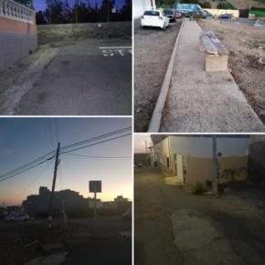 Ciudadanos denuncia el deplorable estado en el que se encuentra el barrio de Montaña la Data Baja