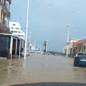 Cs denuncia el pésimo estado en el que se encuentra el sistema de canalización de aguas pluviales en Granadilla de Abona