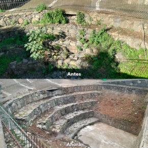 Ciudadanos logra que el Ayuntamiento de Teror acondicione y limpie el parque Puente del Pino