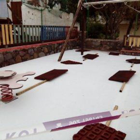 Cs consigue que el Ayuntamiento de Agaete ponga en marcha las obras para concluir la cancha de fútbol y el parque infantil de El Risco