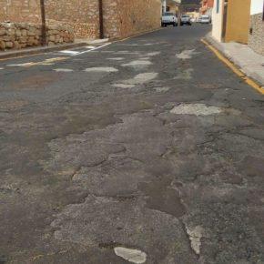 Ciudadanos exige al Ayuntamiento de Arico que acondicione y reasfalte las vías del municipio