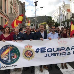 """Mariano Cejas (Cs): """"La equiparación salarial de la Policía Nacional y de la Guardia Civil es de justicia"""""""