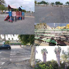 Ciudadanos denuncia las serias deficiencias y la falta de limpieza que presentan los barrios de Montaña Blanca y El Pajar