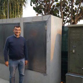 """Cs exige al concejal de Servicios Públicos, Manuel Abrante, que pague de """"su bolsillo"""" los 22.000 euros que va a costar el traslado del 'mamotreto' de la Avenida Marítima"""