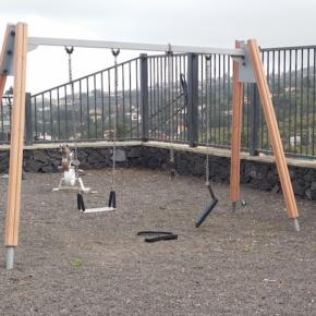Cs exige al Ayuntamiento de Breña Alta que ponga en marcha un plan de remodelación de los parques infantiles del municipio