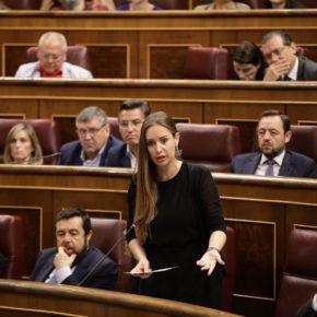 """Melisa Rodríguez: """"No tiene justificación que se anteponga el ego de Rajoy y de Sánchez al interés de todos los españoles"""""""
