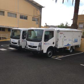 """Cs califica de """"frívolo e irresponsable"""" el acto de presentación de la nueva flota de camiones del Servicio de Limpieza"""