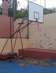 Ciudadanos exige al Ayuntamiento de Breña Alta que acondicione y repare las canchas deportivas municipales