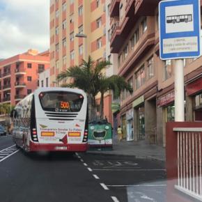 Cs urge al Ayuntamiento de Santa Cruz de La Palma a reubicar la parada de guaguas de la Avenida de El Puente para acabar con los problemas circulatorios