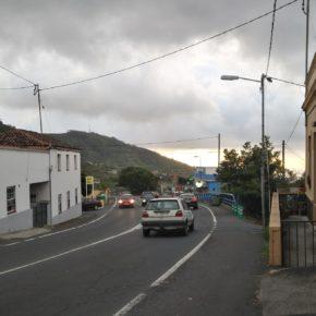 Cs exige que se mejore la seguridad en la carretera general Punta del Hidalgo (TF-13) a la altura de Tegueste
