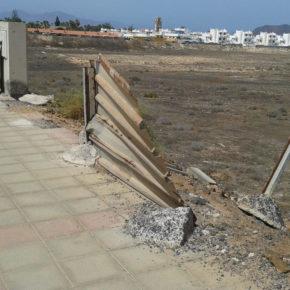 Ciudadanos exige al Ayuntamiento de La Oliva que acondicione la calle Isla Graciosa
