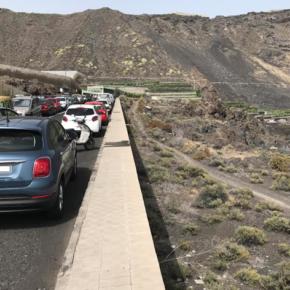 Cs exige al Ayuntamiento de Los Llanos de Aridane que adopte medidas de seguridad en la carretera de acceso a la playa de Charco Verde