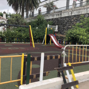 Ciudadanos exige al Ayuntamiento de El Paso que acondicione los parques infantiles del municipio