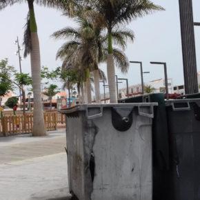 Ciudadanos pide al Ayuntamiento de Antigua que reubique los contenedores cercanos al parque infantil de Caleta de Fuste