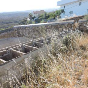 Ciudadanos denuncia el abandono de los lavaderos del El Río (Arico)