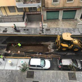 """Antonio Blanco (Cs): """"Es inadmisible que las obras de remodelación de la calle Méndez Núñez sigan presentando problemas"""""""
