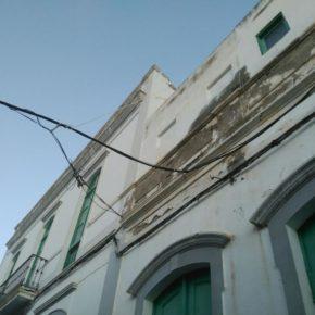 Cs pide al Ayuntamiento de Agaete que aproveche la instalación de la fibra óptica en el municipio para soterrar las líneas aéreas de las fachadas
