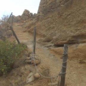 Ciudadanos exige al Ayuntamiento de Arico que acondicione el tramo de la Villa de Arico hasta el Viso (Teguedite)